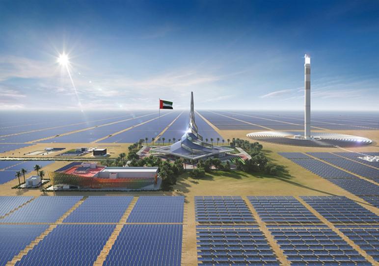RRC has been awarded contract in Mohammed bin Rashid Al Maktoum Solar Park.